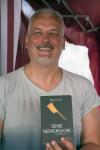 Martin Arz las aus einem seiner München-Krimis und erzählte uns, dass München einmal ein bedeutender Floßhafen war