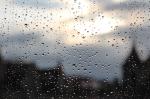 Gerade noch rechtzeitig vor dem Regen nach Hause geschafft